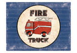 Fire Truck Blues Posters