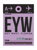 EYW Key West Luggage Tag I Prints by  NaxArt