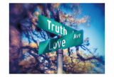 Truth and Love Print