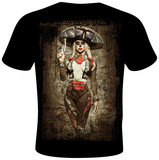Daveed Benito- El Mariachi Muerto T-Shirt by Daveed Benito