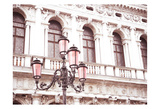 Venice in Pink Plakater