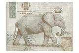 Elegant Safari Elephant 2 Print