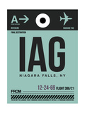 IAG Niagara Falls Luggage Tag II Prints by  NaxArt