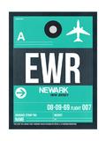 NaxArt - EWR Newark Luggage Tag II - Reprodüksiyon
