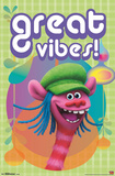 Trolls- Great Vibes! Poster