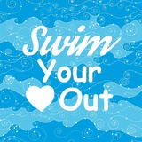 Swim Your Heart Out - Sporty Prints by  Sports Mania