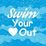 Swim Your Heart Out - Sporty Láminas por  Sports Mania