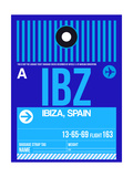 IBZ Ibiza Luggage Tag II Prints by  NaxArt