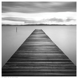 Evening Jetty Print by M. Mun