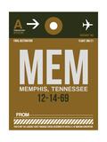 MEM Memphis Luggage Tag I Posters by  NaxArt
