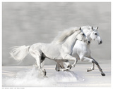 Winter Gallop Art by V. Makarova