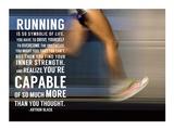 Løping Poster av  Sports Mania