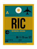 RIC Richmond Luggage Tag I Posters by  NaxArt