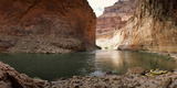 Kayakers in a River, Colorado River, Grand Canyon National Park, Arizona, USA Photographic Print by  Panoramic Images
