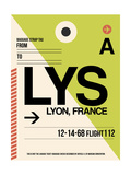 LYS Lyon Luggage Tag I Posters by  NaxArt