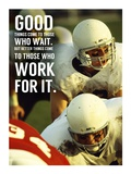 Good Things Come to Those Who Wait Poster av  Sports Mania