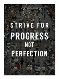Strive for Progress Plakater af  Sports Mania