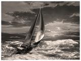 Sunrise Sail Print