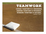 Teamwork Kunstdrucke von  Sports Mania