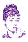 Audrey Hepburn Poster von Cristian Mielu