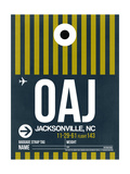 OAJ Jacksonville Luggage Tag II Prints by  NaxArt