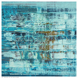 Turquoise Abstract Plakater