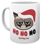 Grumpy Cat - Ho Ho Ho Christmas Mug Taza