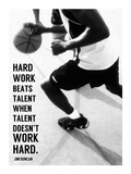 Hard Work Art by  Sports Mania