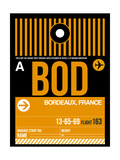BOD Bordeaux Luggage Tag II Prints by  NaxArt