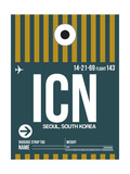 ICN Seoul Luggage Tag II Prints by  NaxArt