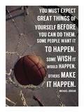 Make It Happen Poster von  Sports Mania