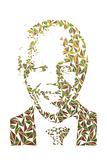 Nelson Mandela Kunstdrucke von Cristian Mielu