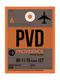 PVD Providence Luggage Tag I Posters by  NaxArt