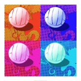 Volleyball Pop Prints by  Sports Mania