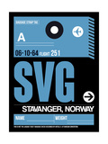 SVG Stavanger Luggage Tag II Prints by  NaxArt