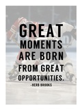 Great Moments Poster by  Sports Mania