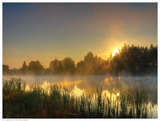 Canal Sunrise Prints