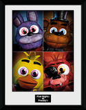 Five Nights at Freddys - Quad Stampa del collezionista