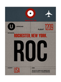 ROC Rochester Luggage Tag I Posters by  NaxArt