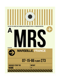 MRS Marseille Luggage Tag I Poster by  NaxArt