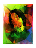 David Geometrized Poster