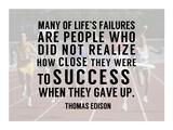 Success - runners Poster von  Sports Mania