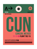 CUN Cuncun Luggage Tag II Art by  NaxArt