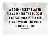 A Good Hockey Player Affiches par  Sports Mania