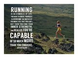 Running is Symbolic of Life Posters by  Sports Mania