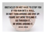 Obstacles Poster by  Sports Mania