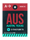 AUS Austin Luggage Tag II Prints by  NaxArt