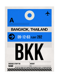 BKK Bangkok Luggage Tag II Prints by  NaxArt