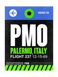 PMO Palermo Luggage Tag II Prints by  NaxArt