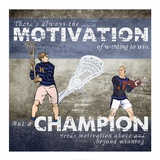 Motivation of Wanting to Win Prints by  Sports Mania
